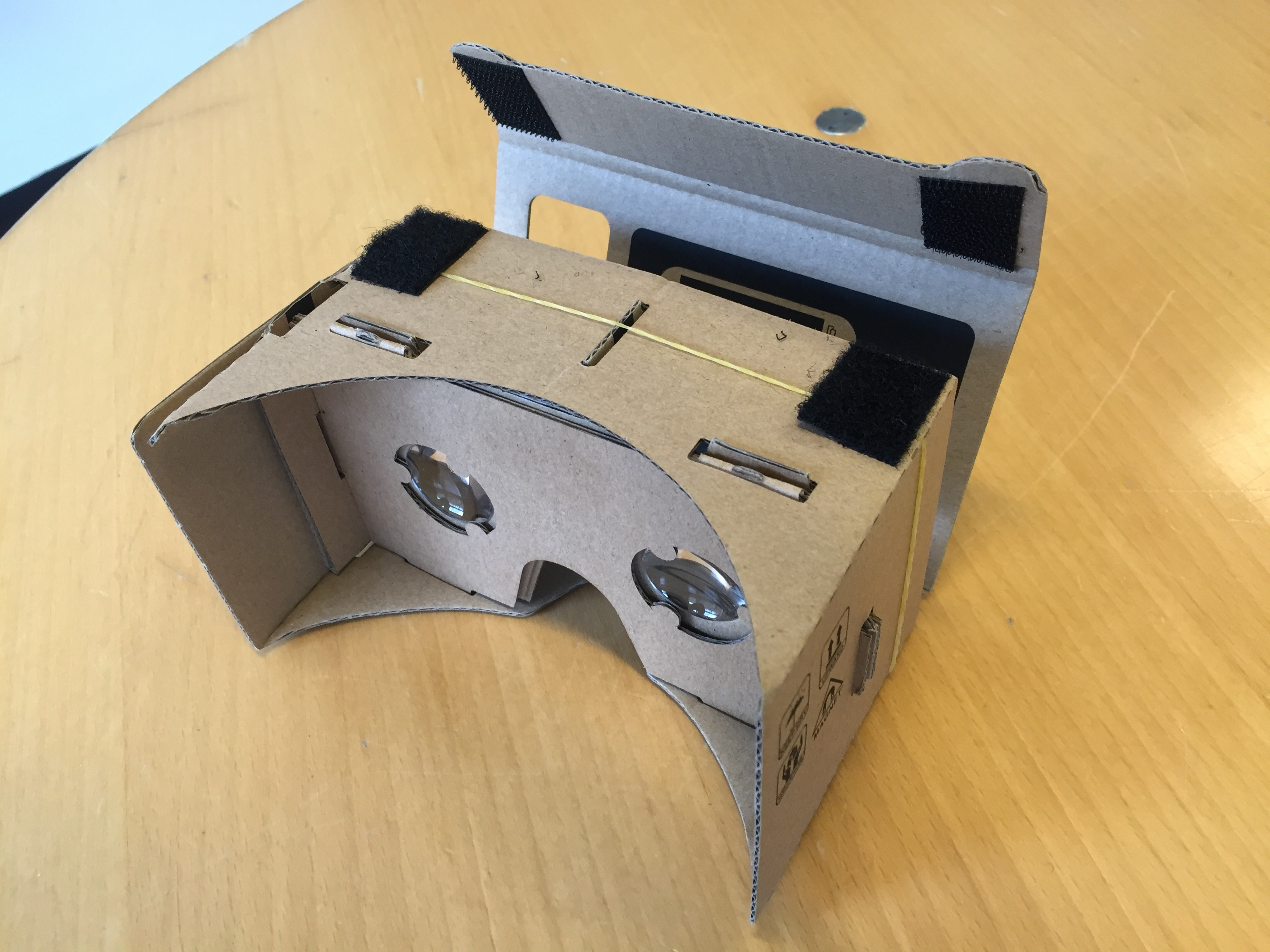 Google Cardboard fremviser